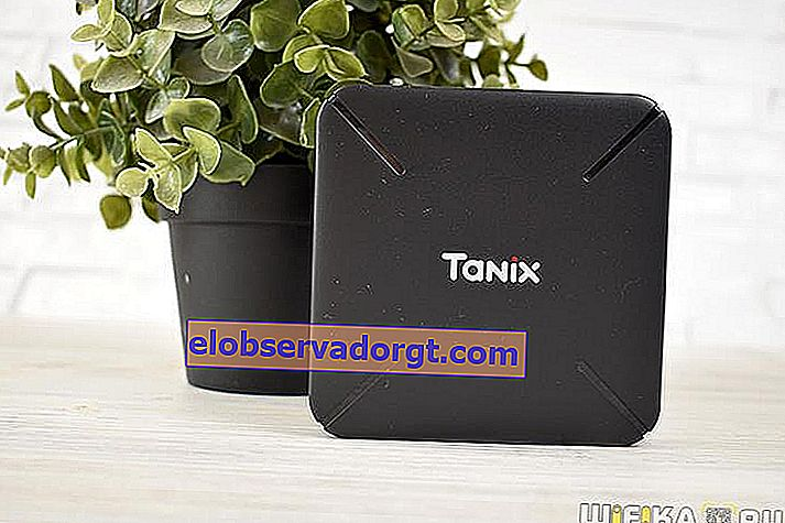 Tanix TX3 Mini-TV-Box