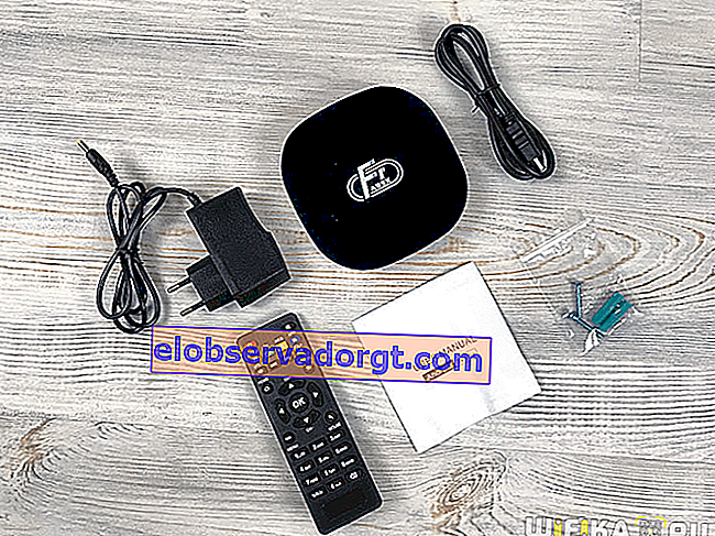 A95X F1 Smart TV Box-set