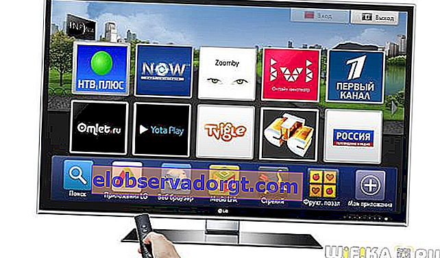 smart tv-widgets samsung LG