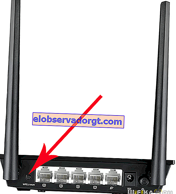 reset router asus