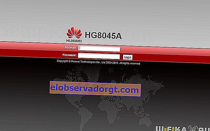 conectare router Huawei
